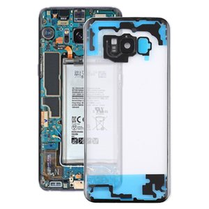 Transparent Battery Back Cover with Camera Lens Cover for Samsung Galaxy S8 +   G955 G955F G955FD G955U G955A G955P G955T G955V G955R4 G955W
