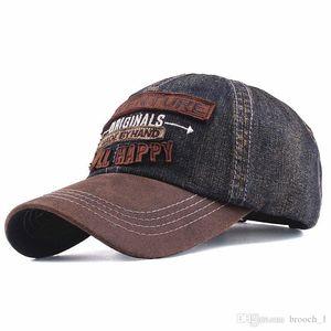 2019 new denim baseball cap tide wild casual embroidery ball cap sun hat fashion couple lover snapback