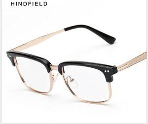 Literatura Moda e Art Flat Óculos Metal, Vidro, Retro Quadro e homens e óculos de Mulheres