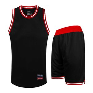 EU-Basketball-Jersey-Männer Sommer-Breathable Quick Dry Basketball Sport Anzug Kinderbekleidung Blank Basketball Training Kleidung 005