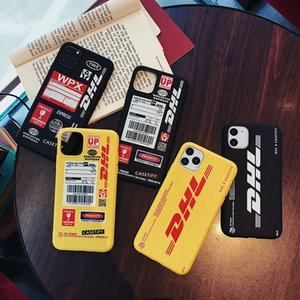 Hot engraçado DHL Soft Case para Iphone 11 Pro Matte Silicone tampa do telefone Coque Fundas Contacte-me para modelos e estilos personalizados