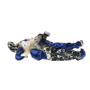 Porselen Küçük Palyaço Bebek, Komik Palyaço Modeli Figürinleri El Sanatları, D