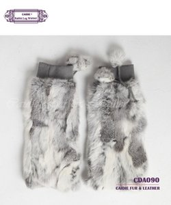 Wholesale-Warm Spring Women Fur Leg warmer With Fur Leg warmer Girls Over Knee For Atumn and Winter 2018 Fashion polainas mulher