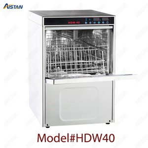 HDW40 desktop dish washer washing machine for commercial kitchen