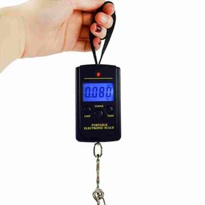Цифровые весы камера Весы нагрузки 40 кг ЖК-мини переносной карман утяжеление весы электронные подвесные весы рыбы