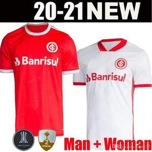 20 21 Sport Brésil Internacional SC Internacional Camisa Masculina Vermelho Maillots de football chemisettes Bruno Silva N.LOPEZ GUERRERO N