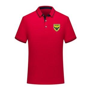Оксфордский объединил 2020 Джерси обучение летом моды хлопка футбол рубашки поло мужчин с коротким рукавом отворот поло футбол мужчин рубашки поло мужская Polos
