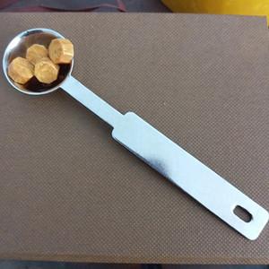 New Wax Seal Stamp Accessoires cire spéciale d'étanchéité fusion cuillère Rétro poignée en bois cuillère pour le scrapbooking cire Spoon Livraison gratuite