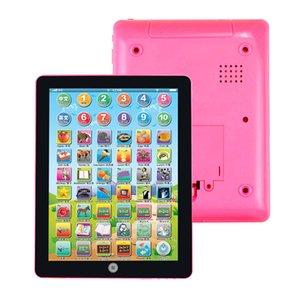 Дети Компьютер Tablet игрушка Электронной китайский английский Смешное интерактивное обучение Учебные машины Ранняя Развивающие игрушки для детей