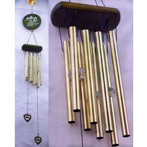 Antirust Copper Wind Chimes Lovely Outdoor Living Yard Garden Decorations Birthday Gifts to Friends and Best Wishes G613