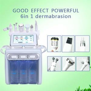 2020 6in1 BIO peau Lifting Oxygène spray visage eau dermabrasion Équipement Peeling ultrasons Soins de la peau Rajeunissement Beauty Machine sur la vente