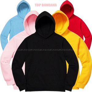 TOP Qualität UNHS NEW 19FW Bandana Hoodie Stickerei Fleece Baumwollhoodies Paar Mode Sweatshirts HipHop Skateboard Pullover DSFS002