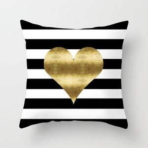 Federa marmorizzazione poliestere geometrica sofà decorativo Cuscino per la decorazione domestica 45x45cm Peach Velvet Pillow 12styles RRA2912