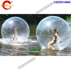 حرّ هواء سفينة تجاريّ قابل للنفخ ماء يمشي كرة للبيع، pvc واضح قابل للنفخ ماء كرة يمشي على ماء