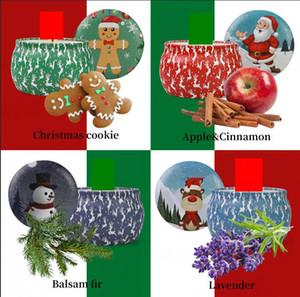 Natale Candele profumate Babbo Natale decorazione pupazzo di neve Cono candele senza fumo Aroma casa Matrimonio festa di compleanno di Natale Candela GGA2732
