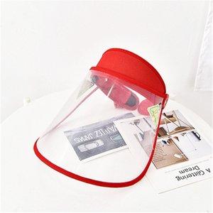 안티 드룰 생활 방수 모자 도매 ZJJ323 둘레 6 색 안티 침 보호 모자 방진 커버 관모 조절 헤드