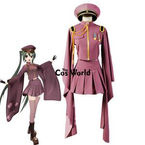 Новизна специального назначения Vocaloid Hatsune Miku Senbonzakura Кимоно форменные платья Outfit Аниме Косплей костюмы Всего Set