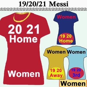 19 20 21 Griezmann MESSI Frauen Fußball-Trikots SUAREZ PIQUE A. INIESTA Home Away Fußball-Hemden RAKITIC Rafinha mit kurzen Ärmeln Lady Uniformen