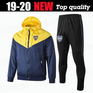 19 20 Boca Juniors mens completo jaqueta Benedetto Hoodie CABJ treino camisa casaco de inverno formação Naindez Pavon blusão de futebol Mas