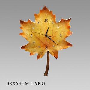Nordic Гостиная Настенные Часы Mute Декоративные Европейские Часы Silent Круглые Настенные Часы Home Decor Механизм 50Q317