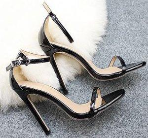YEELOCA 2020 Summer High Heels New Femmes Escarpins Confort Femmes Boucle Sandales WZ004
