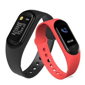 Hot M5 Sport Watch Bracelet Fitness Band Tracker Colorful Screen Smart Heart Rate Blood Pressure Smartband Monitor Health Wristband In Stock