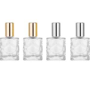 2020 новый 10мл Mini Steel Болл бутылки Пустой Перезаправляемые Roll On Бутылка эфирного масла стеклянная бутылка духов