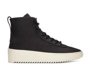 Chaud Noir et blanc Meilleure Qualité Peur de Dieu Top Militaire Sneakers Hight Army Bottes Hommes et Femmes Mode Chaussures Martin Bottes taille 38-46