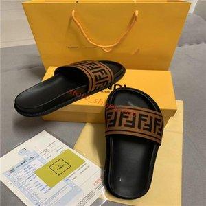 FENDI 2020 xshfbcl Uomini Donne Sandali scorrere Designer scarpe di lusso di estate di modo ampio appartamento Slippery Sandals Slipper flip flop formato 36-45