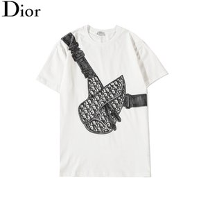 Femmes Hommes 2020 Nouveau mode T-shirt avec la lettre de marque Print Designer Fashion Top T-shirts manches courtes T-shirt décontracté S-2XL 01