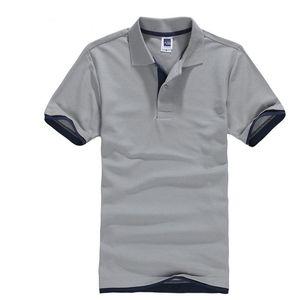 Classic Short Sleeve T shirt da Uomo Estate Casual T-Shirt Solid traspirante lusso cotone Tshirt maglie Golf Tennis Uomini Camisa Tops CX200707
