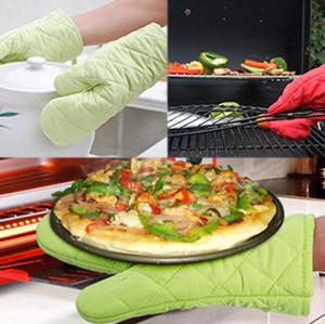 Mikrodalga Fırın Mitt İzoleli Kaymaz Eldiven Kıvam yalıtım eldiven Pişirme 8 Renkler Pamuk Fırın Eldiven Isıya dayanıklı eldiven Mutfak