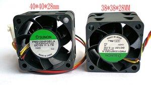 새로운 원본 SUNON PMD1204PQB1-A 4028 12V 3.7W 3WIRE PMD1238PQB2-A 3828 냉각 팬