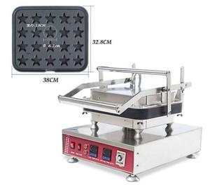 NP-825 Kommerzielle 30 stücke Sternförmige Käse Törtchen Shell Maker Elektrische Eierkuchen, Der Maschine 110 v 220 v