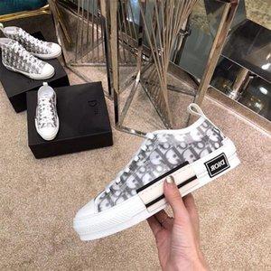2020 Диор Цветы Косой Tess Досуг обувь Мода Дизайн Платформа Тройной кроссовки Мужчины Женщины Vintage Тренер Спортивная обувь Сапоги