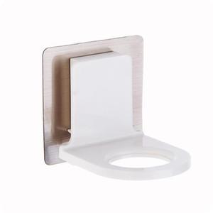 Shower Gel garrafa Gancho rack auto-adesiva de banho Hand Sanitizer Titular de suspensão por Household Decoração do Banheiro EEA1642
