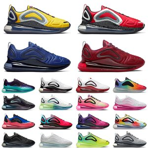 Nike air max White Volt 720 Mens Running shoes Cosmic Aurora Wolf Grey Psychic Powder Multi-Color Metallic Black Hyper Men women Sports sneakers 36-45