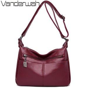 VANDERWAH couro de luxo Bolsas Mulheres Bolsas Designer Feminino Shoulder Crossbody Bag mãe sacos para as mulheres 2020 Sac A Femme Principal