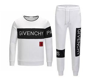 En çok satan sonbahar marka 2019 ilkbahar ve sonbahar moda spor erkek siyah ve beyaz kırmızı atletizm spor erkek kazak la