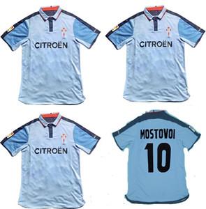 2002 2003 2004 RC Celta de Vigo Retro futbol Mostovoi Sylvinho ev gömlek 02 03 04 futbol formaları
