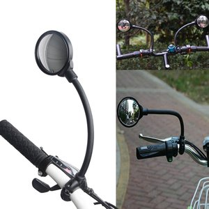 1PC bicicleta Espelhos Mangueira Ajuste guiador espelho retrovisor para bicicleta de MTB Segurança da bicicleta Vista Traseira Ciclismo Acessórios da bicicleta # gh