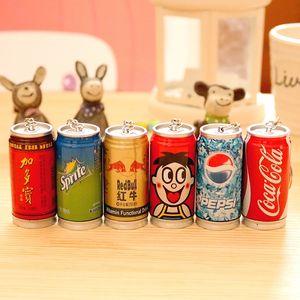 Tragbarer einziehbare Creative-Drink Wang Tsai, Sprite, Coca-Cola Variety Of Pens Cute Student Briefpapier-Schule Bürobedarf zdl0222.
