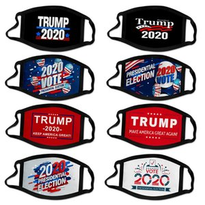 Hot selling US presidential election campaign Trump mask polyester printing mask outdoor dustproof mouth cover Designer Mask T9I00405