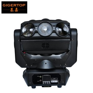 TIPTOP TP-L676 9 x 12W LED Araignée Moving Head Light RGBW DMX 512 4en1 scène Disco éclairage Backdrop faisceau d'éclairage linéaire Dimmer