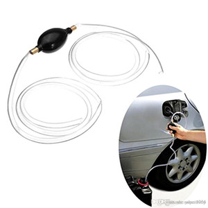 가스 물 기름 유체 1 개 자동차 사이펀 호스 휴대용 액체 전송 수동 실리콘 펌프 어리버리