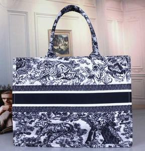 2020 Moda newset Handbag Designer Imprimir Bordados Multicolor ombro único grande capacidade Bucket Bag