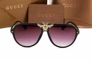 Diseñador de marca de moda gafas de sol para hombres, mujeres, medusa, gafas de sol, unidad masculina de alta calidad polarizada UV400 Driven Sunglasses 003321