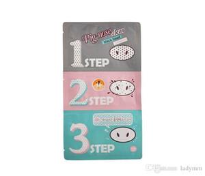 20pcs Holika Pig Nose Clear Black Head Perfect Sticker 3 steps Clear Black Head Mask Blackhead Remover