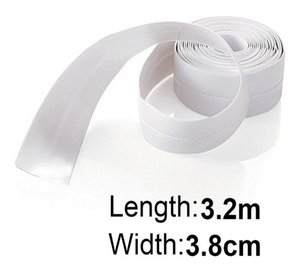 New High Quality Waterproof Mold Proof Adhesive Tape Durable Use PVC Material Kitchen Bathroom Wall Sealing Tape Gadgets A10