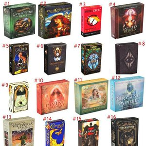 Oracle Cards Deck English Mysterious Fate Divination Tarot Cards Board Games Women Family Holiday Party Playing Cards Fun Card Games JmqEB